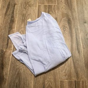 Francesca's baby blue long sleeve tee